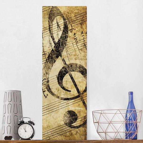 Musical Notes Metal Wall Art | Wayfair.co.uk