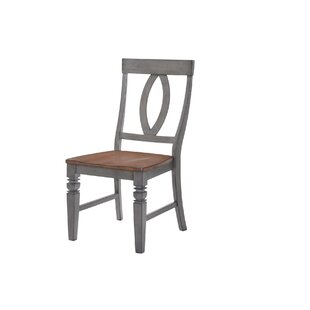 Adalgar Slat Back Dining Chair by August Grove 2019 Salet