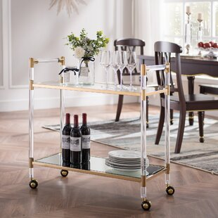 Hunstant Bar Cart by Everly Quinn