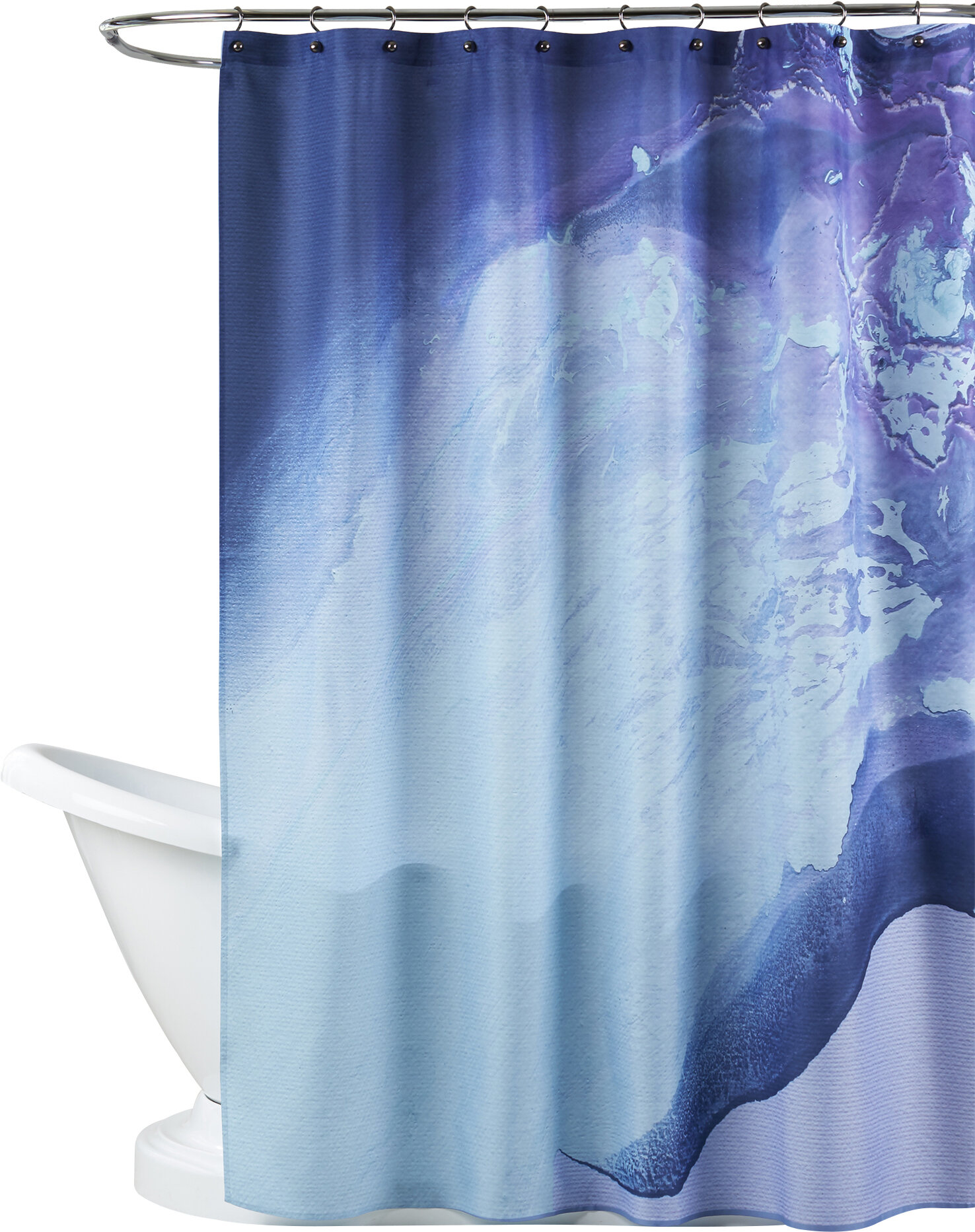 Brayden Studio Deb Mcnaughton Cool Single Shower Curtain Wayfair