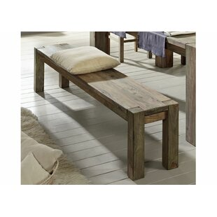 Nature Solid Wood Bench By Massivmoebel24