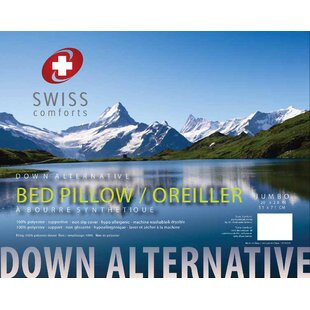 Swiss Comforts Micro Polyfill Pillow