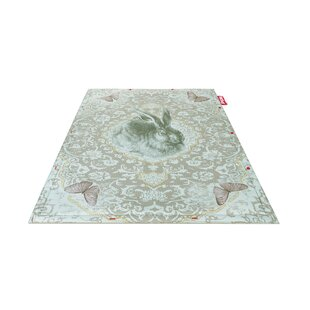 Roger Non-Flying Blue Indoor/Outdoor Novelty Rug