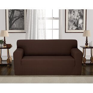 Anti-Slip Spandex Elastic Stretch T-Cushion Loveseat Slipcover