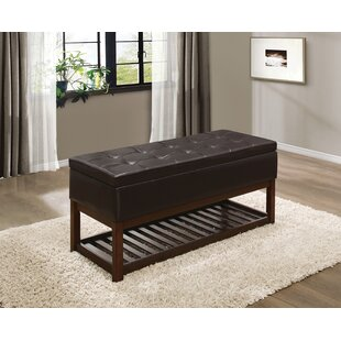Abrahams Wood Storage Bench