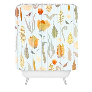 Iveta Abolina Blanche Garden Single Shower Curtain