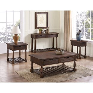 Mcclellan 4 Piece Coffee Table Set