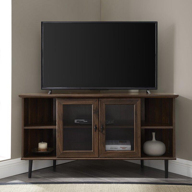 Laurel Foundry Modern Farmhouse Gerardo Corner Tv Stand For Tvs Up To 55 Reviews Wayfair