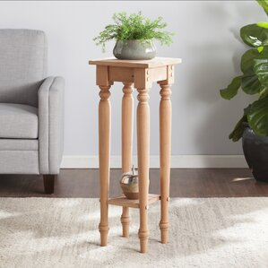 Brentford Wood End Table by Three Posts
