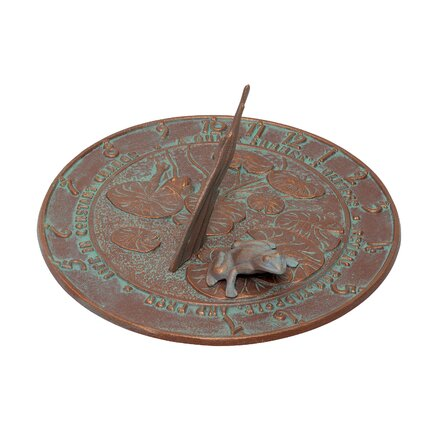Frog Sundial