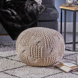 Find for Mabie Knitted Pouf ByBungalow Rose