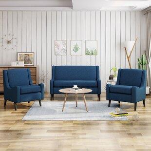 Lafrance 3 Piece Living Room Set by Brayden Studio