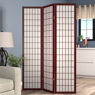 D'Aulizio Shoji Room Divider Red Barrel Studio