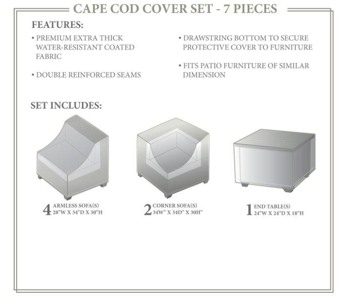 Tk Classics Cape Cod Winter 7 Piece Cover Set Wayfair