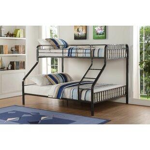 Tasha Twin XL Over Queen Slat Bunk Bed by Zoomie Kids