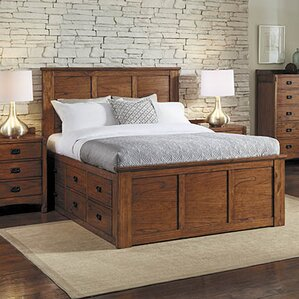 Castro Captain Storage Panel Bed by Loon Peak