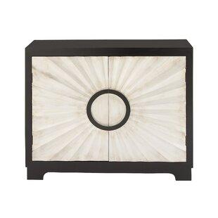 2 Door Wood Accent Cabinet by ..