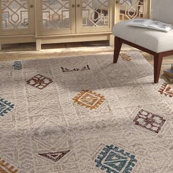 Darby Home Co Morre Hand Tufted Wool Beige Area Rug Wayfair