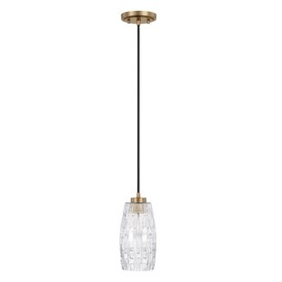 Wrought Studio 1-Light Bell Pendant