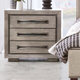 Brisco 3 Drawer Nightstand by Union Rustic