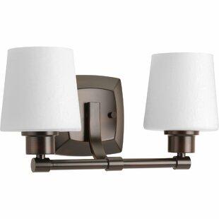 Winston Porter Blocher 2-Light Vanity Light