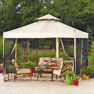 Replacement Canopy for 10' W x 12' D Wicker Gazebo by Sunjoy