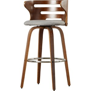 Lucey 29  Swivel Bar Stool  sc 1 st  AllModern & Modern Wood Bar Stools + Counter Stools | AllModern islam-shia.org