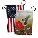 Hummingbird Garden Flag Wayfair