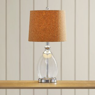 Great Price Bushnell 22 Table Lamp with Empire Shade By Beachcrest Home