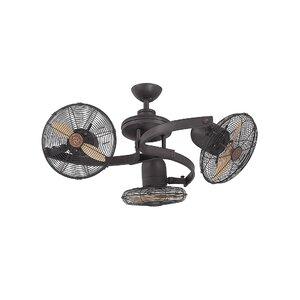 Oberlander 2-Blade Ceiling Fan