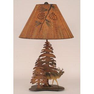 Rustic Living Iron Elk 28.5 Table Lamp