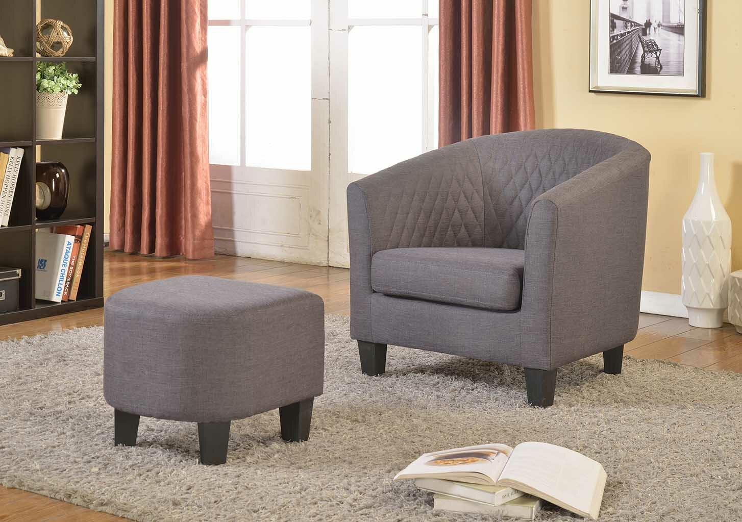 Latitude Run Salter Barrel Chair Reviews Wayfair
