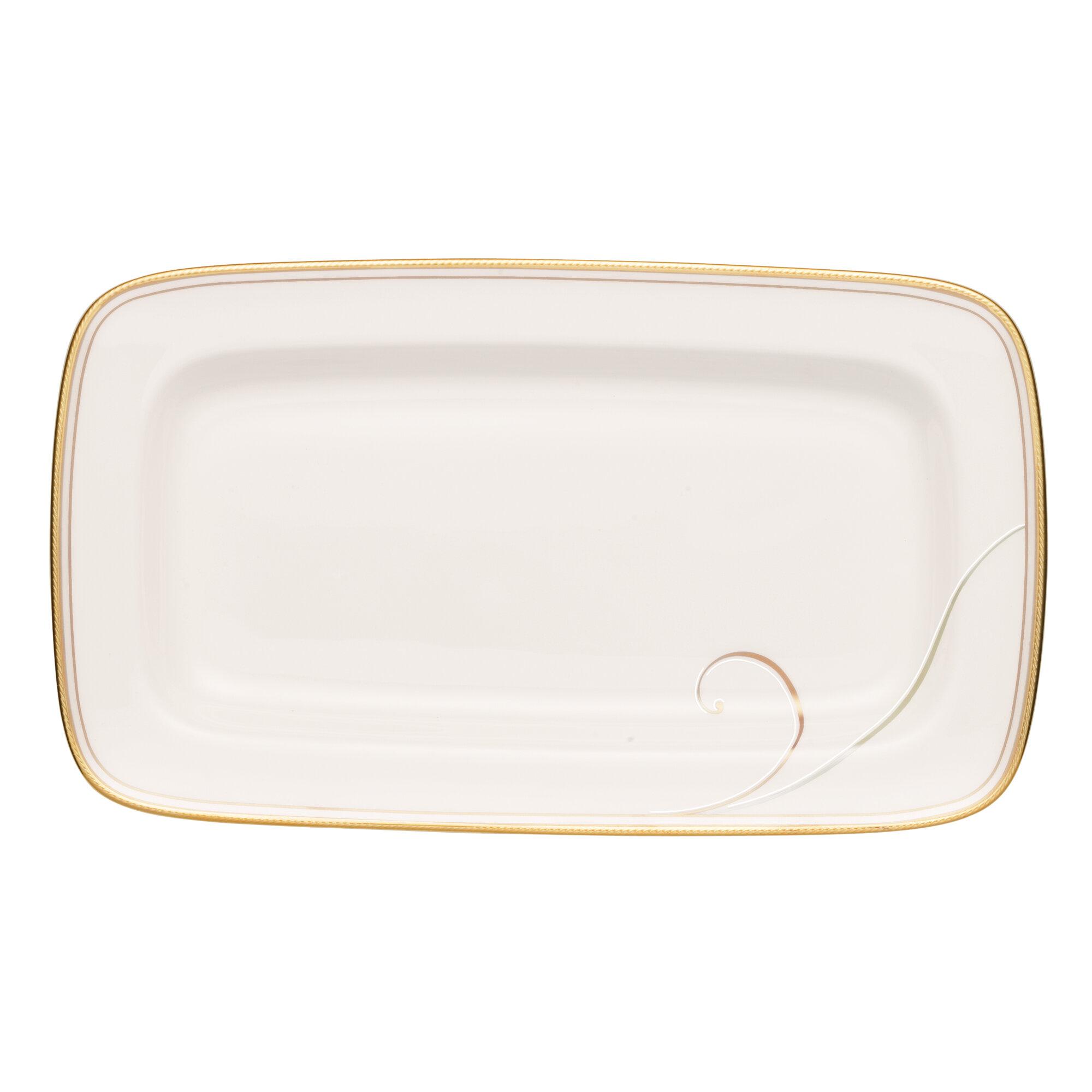 Noritake Golden Wave Butter Dish Wayfair