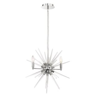 Orren Ellis Ben 4-Light Chandelier