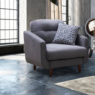 Best Reviews Hecht Linen Urban Track Armchair by George Oliver Reviews (2019) & Buyer's Guide