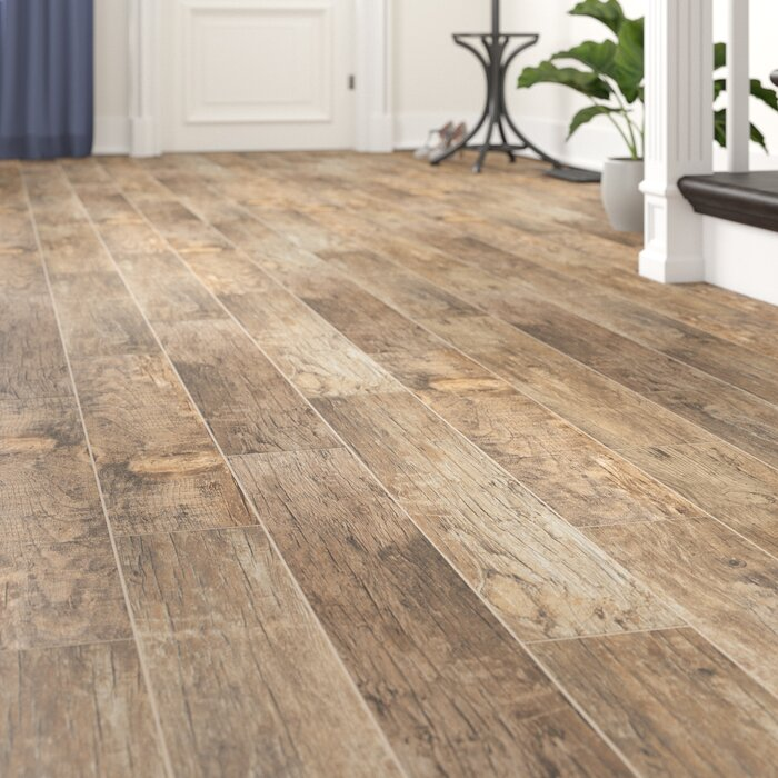 Redwood Natural 6 X 36 Porcelain Wood Look Tile