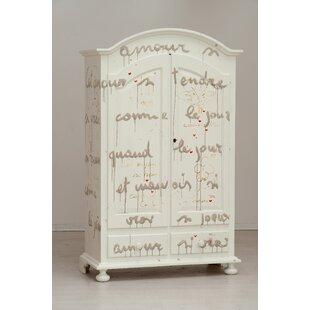 Collum Primetemps 2 Door Wardrobe By Fleur De Lis Living