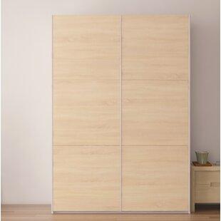 Online Reviews Zastrow Wardrobe Armoire with Sliding Doors ByBrayden Studio