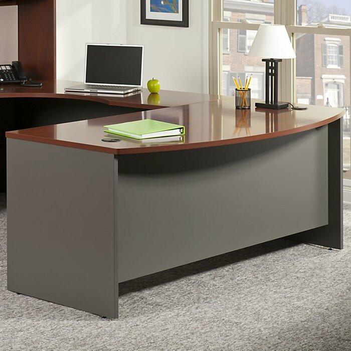 series corner desk. Series C Left Handed Corner Desk