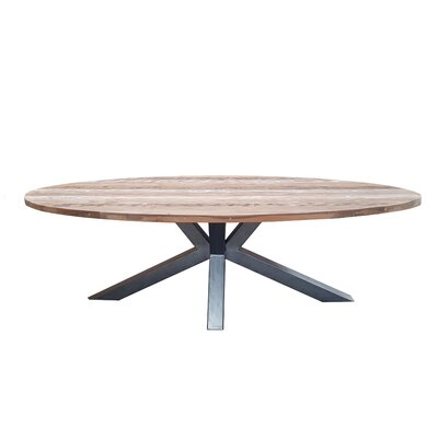 Burciaga Teak Dining Table by Gracie Oaks Cool