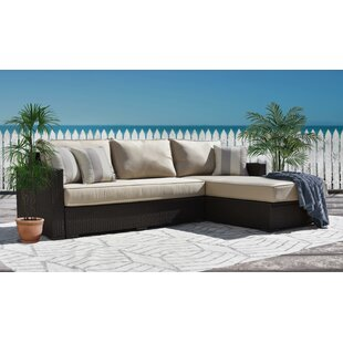 Laguna Sectional with Cushions by Serta at Home