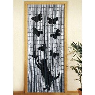 Superieur Bamboo Semi Sheer Single Curtain