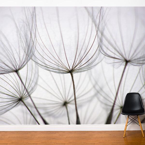 Ebern Designs Nordham Dandelion Wall Mural Reviews Wayfair