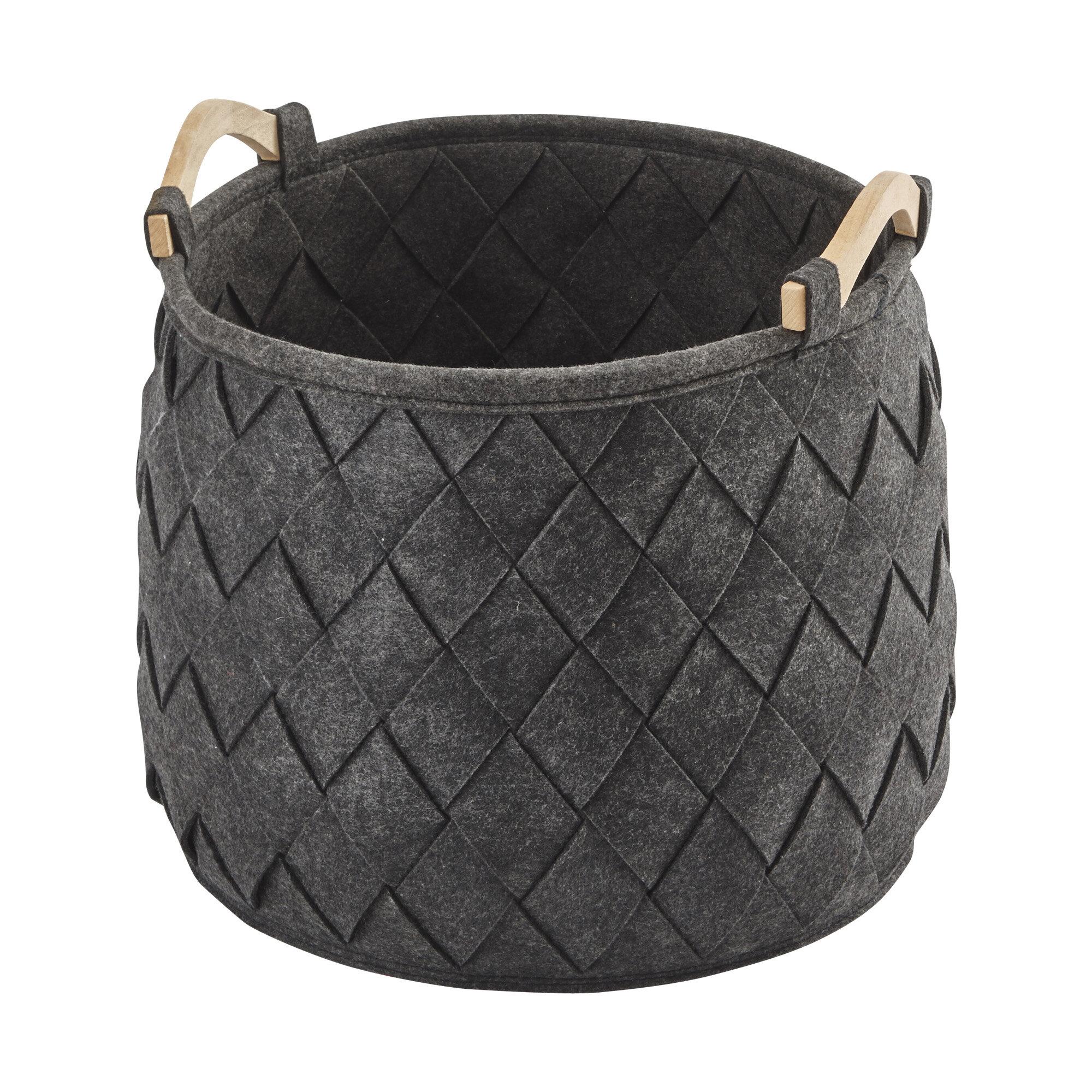 Wrought Studio Eder Fabric Basket Wayfair