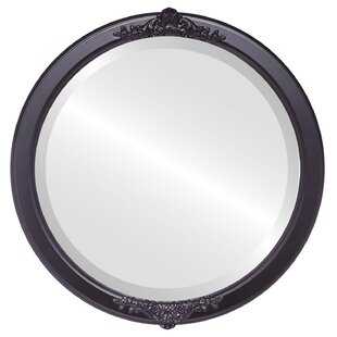 House of Hampton Wingate Framed Round Accent Mirror