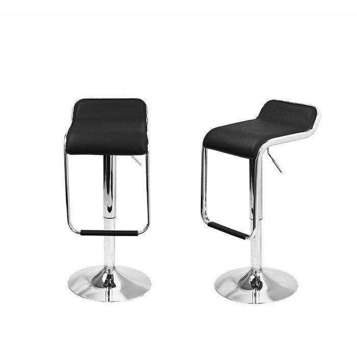 Astounding Martino Pu Leather Square Seat Adjustable Height Swivel Bar Stool Inzonedesignstudio Interior Chair Design Inzonedesignstudiocom