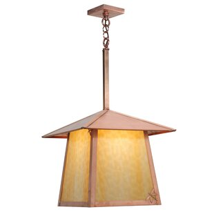 Meyda Tiffany Stillwater Dragonfly 1-Light Lantern Pendant