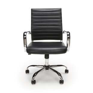 Twelveoak Genuine Leather Conference Chair