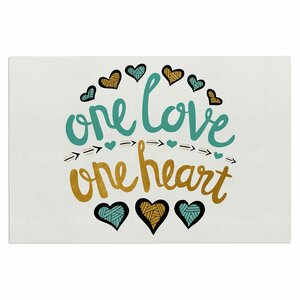 'One Love One Heart' Doormat