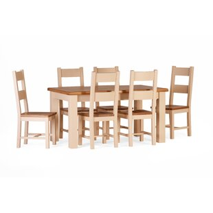Red Lodge Dining Set With 6 Chairs By August Grove